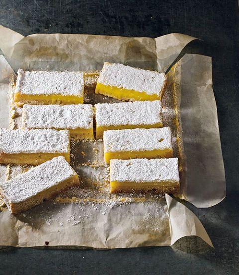 lemon lavender bars