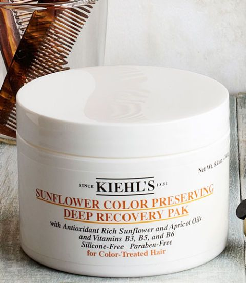 kiehls sunflower color preserving deep recovery pak