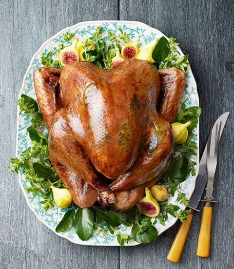 sage butter roasted turkey