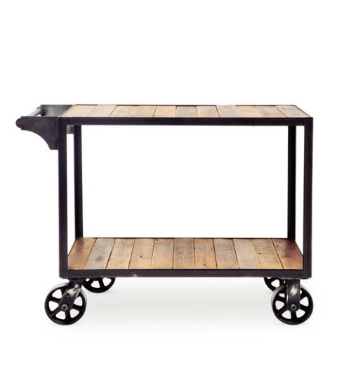 brackish designs bar cart