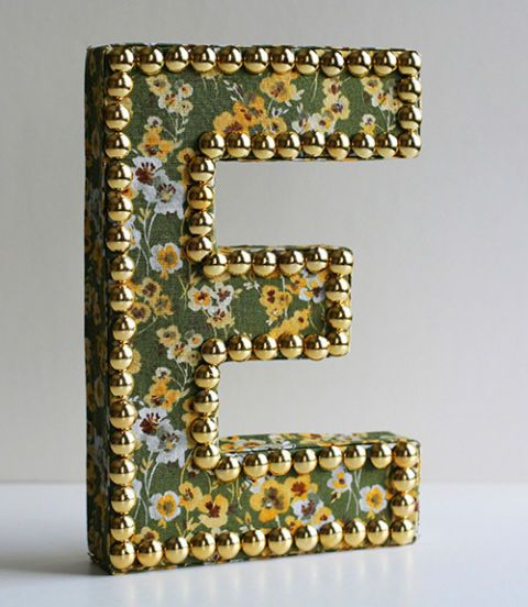 Decorating With Words Diy Craft Projects