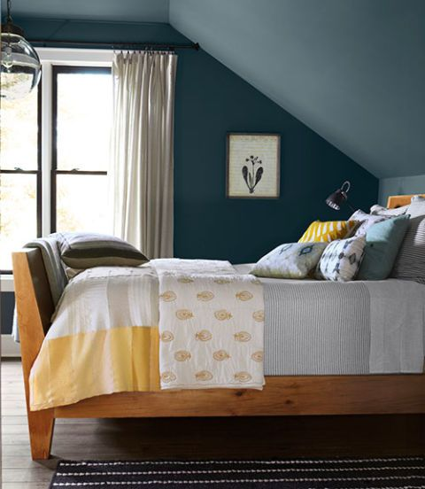 Ideas For Colorful Bedrooms