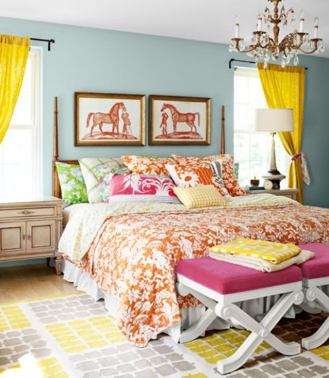 Bright Colorful Tween Bedroom: Ideas For Colorful Bedrooms