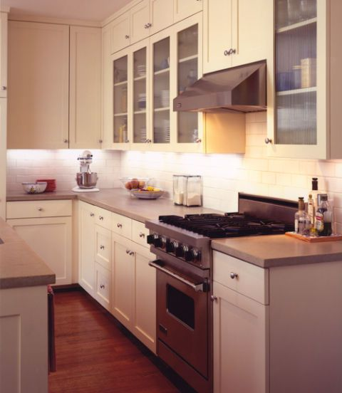 Room, Brown, Wood, Kitchen, Major appliance, Floor, Interior design, Kitchen appliance, Cabinetry, Home appliance,