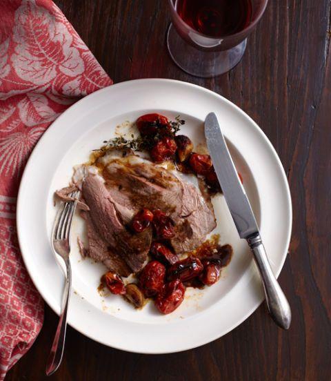 Orange-and-Cumin-Leg-of-Lamb-with-Roasted-Tomatoes-and-Garlic-Recipe