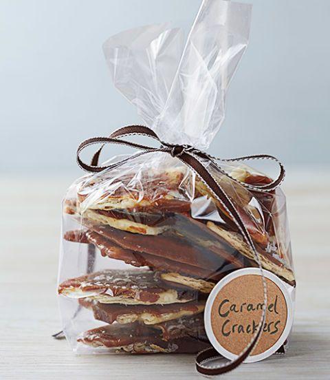 salted caramel cracker candy