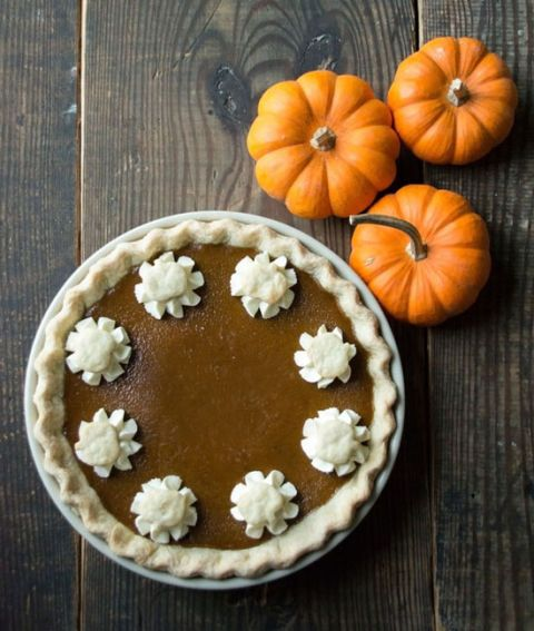 tradition pumpkin pie