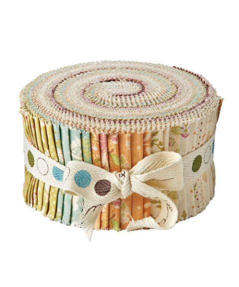 roll of fabrics