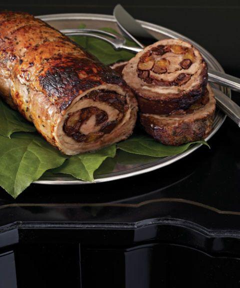 roll of roast pork