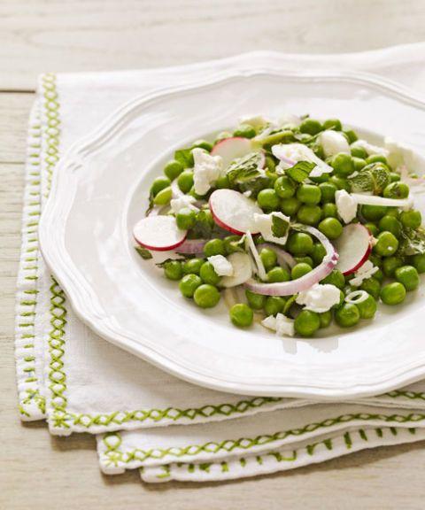 feta and pea salad