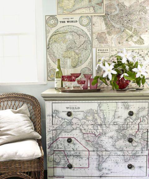 Map Decor Map Dresser Maps