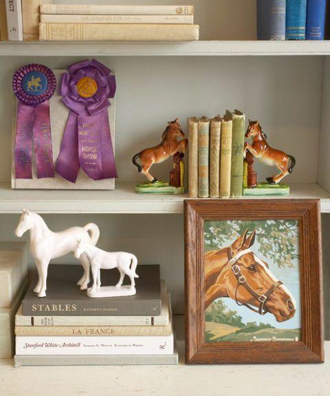 Vintage Horse Room Decor