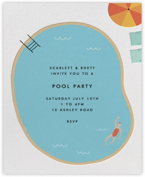 summer party invitations summer party ideas