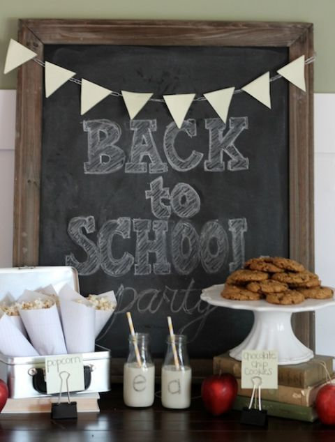 Back To School Bash School Themed Party Ideas