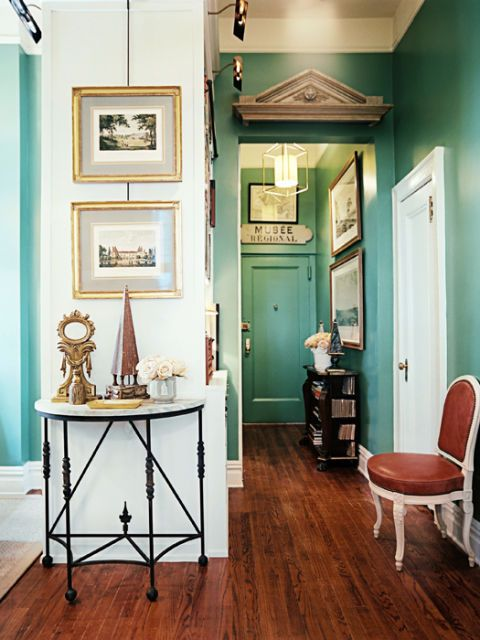 paint colors and home accents