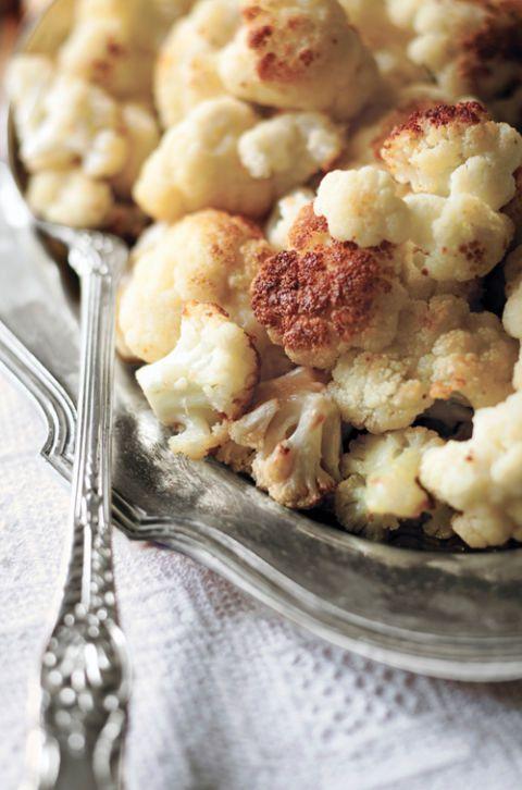 olive oil roasted cauliflower recipe