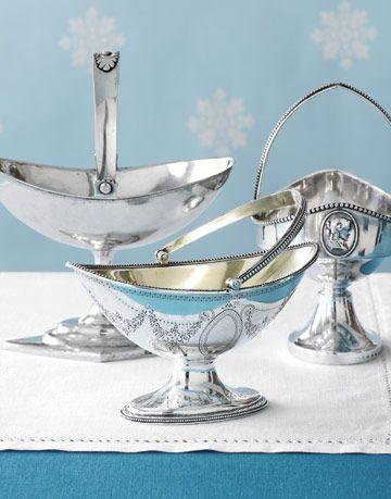 silver sweetmeat baskets