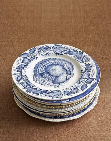 blue turkey china