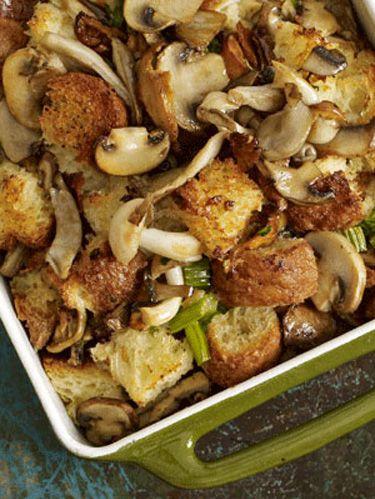 brioche and mushroom stuffing