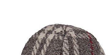 plaid gray cap