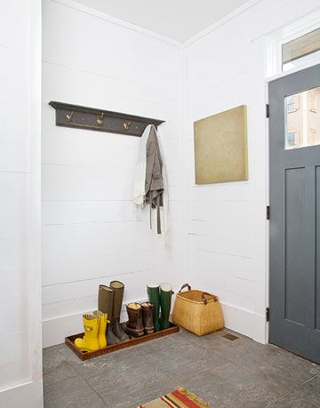entry with coat rack