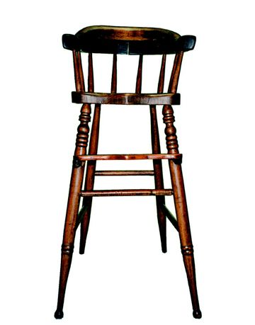 High Chair Antique Raisals