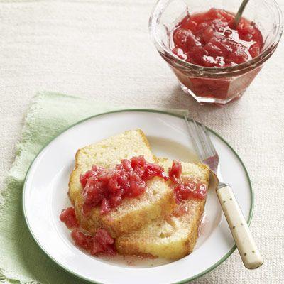 rhubarb and ginger sauce