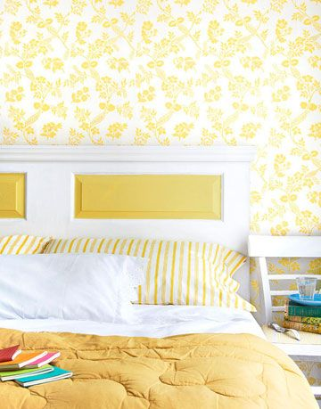 DIY Headboard - How To Make A Headboard From a Door