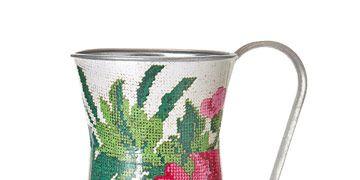 floral pitcher