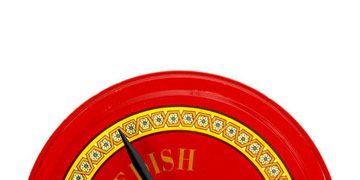 cookie tin clock