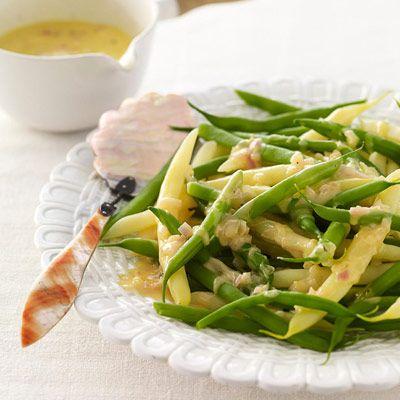 green beans orange beurre blanc