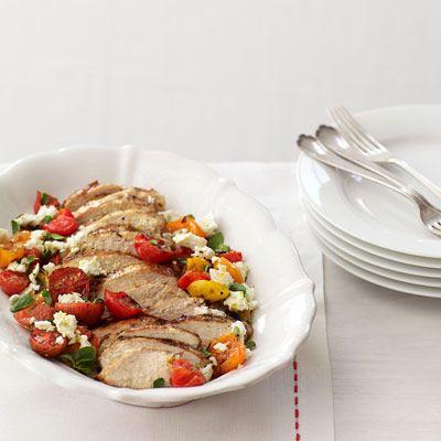 grilled chicken greek flavors