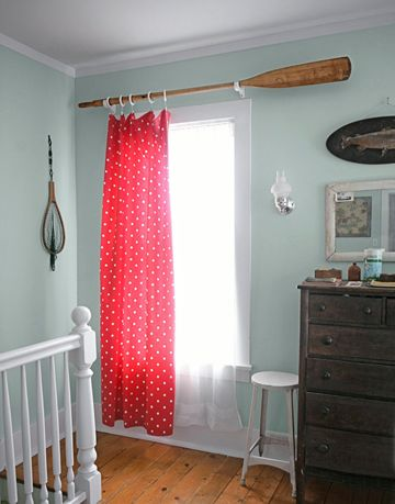 oar curtain rod