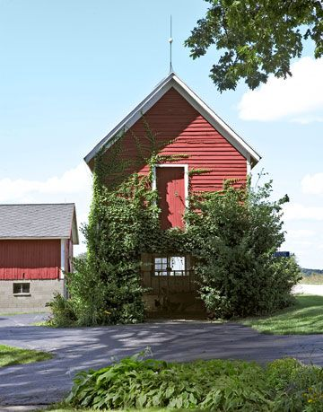red carriage house