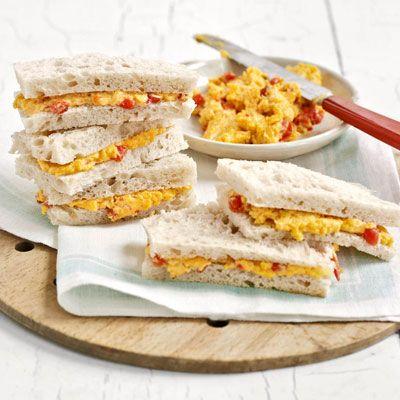 pimento-cheese sandwiches