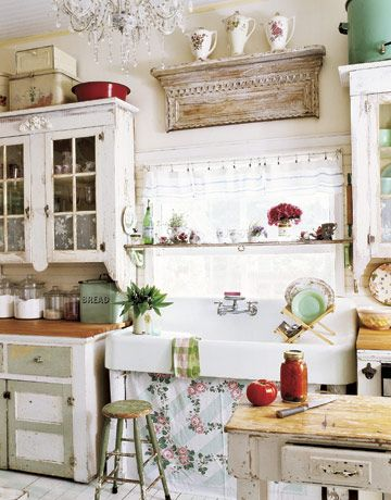 12 Shabby Chic Kitchen Ideas