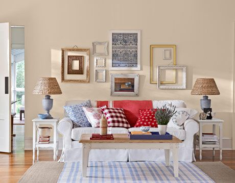 Room Makeover - American Country Room Design
