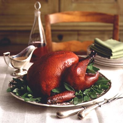 apple sage marinated smoked turkey