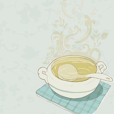 pot of soup illustration