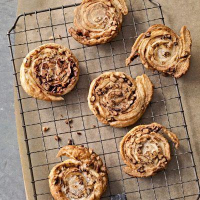 cinnamon pecan spirals pastry