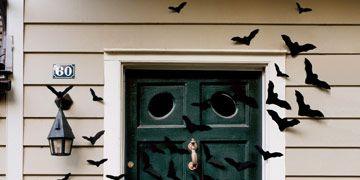 bats on front door