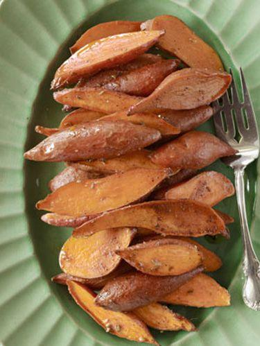 spiced sweet potatoes