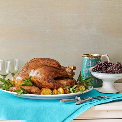 butter-and-herb roast turkey