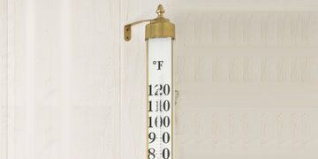 oversized outdoor thermometer