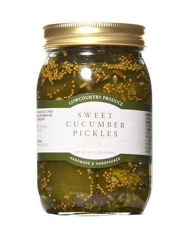 regional sweet cucumber pickles