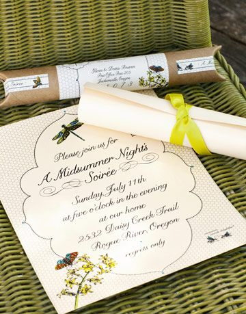 invitation to a midsummer nights soiree