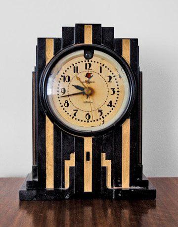 collectible antique clock