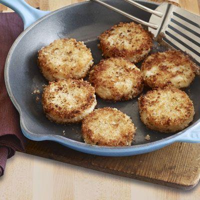 crispy rosemary potato cakes