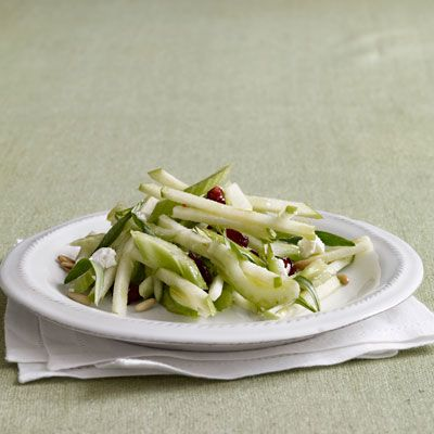 celery hearts with apples cranberries