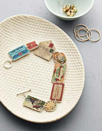 How To Make A Handprinted Bracelet How To Make A Shrinky
